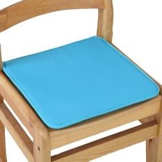 Kantor Kursi Garden Indoor Bantalan Kursi Makan Tie On Square Foam Patio UK Sky Blue-Intl