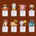 Lucu Kartun Kucing Bintang Toy Heart Shaped Wall Sticker Decal Home Kertas PVC Mural Rumah Wallpaper Kamar Tidur Anak-anak Babys Living Room Gambar Seni Dekorasi-Intl