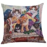 Tips Beli Lucu Kucing Sofa Bed Rumah Dekorasi Festival Sarung Bantal Sarung Bantal Intl