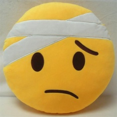 Lucu Emoji Emotikon Bantal Bentuk Bantal Boneka Mainan Bantal Lempar G -Internasional
