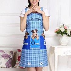 Harga Cute Kitchen Restaurant Men Women Bib Cooking Aprons With Pocket Intl Terbaru