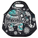 Jual Cute Pattern Waterproof Insulated Thermal Portable Cooler Storage Tote Lunch Bag Intl Murah Tiongkok