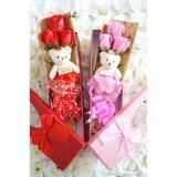 Beli Cutevina Flower Soap Bunga Sabun Mawar Kado Valentine Buket Bunga 3 Mawar Boneka Bng002 Cicil