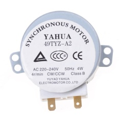CW/CCW 4 W 5/6 Rpm IMC Microwave Oven Turntable Synchronous Motor-Intl