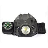Review Dbest Kudastore Senter Model Ham Gelang Pergelangan Tangan Flashlight Wristwatch Led With Kompas Dbest Di Bali
