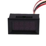 Spek Dc 100 V 50A Pengukur Tegangan Volt Pengukur Amper Merah Panel Digital Pengukur Volt Amplifier Hong Kong Sar Tiongkok