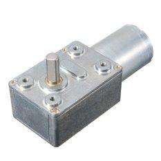 DC 12 V 200 rpm tinggi torsi cacing diarahkan Motor Gear Box logam Reducer Turbo Motor - intl