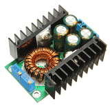 Ulasan Lengkap Dc Dc Cc Cv Buck Converter Step Down Power Supply Module 7 32V To 8 28V 12A