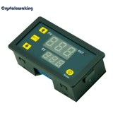 Spesifikasi Dc12V 20A Digital Display Time Delay Relay Timing Timer Cycling Module Intl Vakind