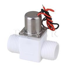 Review Dc3 6V Air Control Pulse Solenoid Katup Elektromagnetik Putih Di Tiongkok