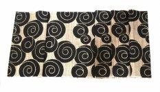 Toko Decoku Black Spirals Natural Taplak Meja Table Runner 180 Cm Terdekat