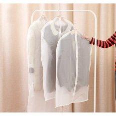 Toko Decoku Plastik Semi Transparan Pelindung Baju Cover Baju Set Isi 2 Buah 137X60 Cm Online