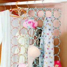 Deehaya Store Hanger Unik Jilbab Hijab Syal Belt Kaos Kaki 28 Lubang / Hole Gantungan Jilbab Hijab Syal Belt
