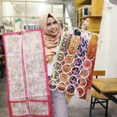 DeeHaya Store HJO / Hanger JIlbab Hijab Syal Belt Plus Cover Anti Debu Anti Kotor