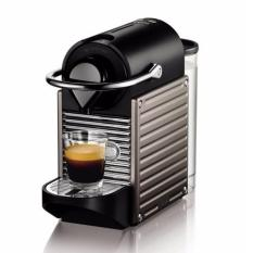 Delonghi Mesin Kopi Nespresso Pixie - Titanium
