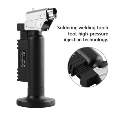 Diskon Dental Lab Ignition Flame Butane Torch Soldering Welder Adjustable Flame Control Oem