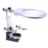 Harga Desktop Magnifier Welding Kaca Pembesar Led Pemegang Solder Alat Perbaikan Internasional Yang Murah