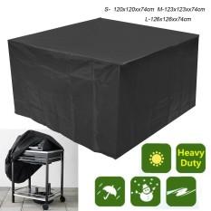 Rincian Tentang Luar Ruangan Teras Furniture Sarung Anti-Air Taman Meja Rotan Set Perlindungan Hujan L-Internasional