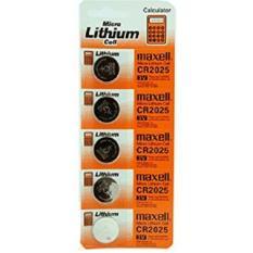 DEVmart - 5 Pcs - Lithium Battery Baterai Kancing Batre CR 2025 (3V) Untuk Kalkulator, Jam, Kamera, PDA, Remote Mobil