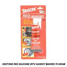 Dextone Red Silicone (RTV Gasket Maker) Lem Gasket 70 Gram