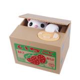 Jual Dhs Super Meng Steal Money Cat Creative Piggy Bank Strawberries Online Di Tiongkok