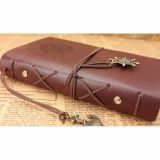 Beli Diary Book Binder Kulit Buku Catatan Harian Retro Pirate Cicilan