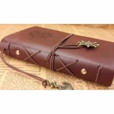 Model Diary Book Binder Kulit Buku Catatan Harian Retro Pirate Terbaru