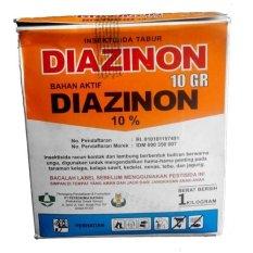 Spesifikasi Diazinon 10 Gr Insektisida Kontak Tabur 1000 Gram Diazinon