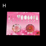 Jual Berbeda Fashion Gelatin Seni Alat Gracilaria Jelly 3D Jello Kue Alat 10 Pcs With Jarum 08
