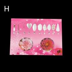 Jual Berbeda Fashion Gelatin Seni Alat Gracilaria Jelly 3D Jello Kue Alat 10 Pcs With Jarum 08 Oem Online
