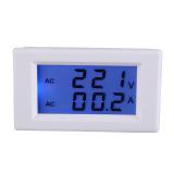 Jual Digital Ac 100 300 V 50 Amp Pengukur Amper Pengukur Tegangan Volt Lcd Volt Meter Amplifier Panel Putih Hong Kong Sar Tiongkok Murah