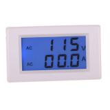 Ulasan Mengenai Digital Ac 80 300 V 100 Amp Pengukur Amper Pengukur Tegangan Volt Lcd Volt Meter Amplifier Panel Putih