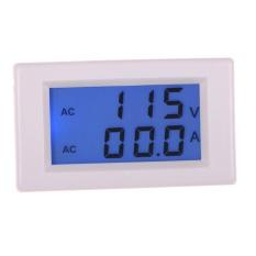 Digital Ac 80 300 V 100A Ammeter Voltmeter Lcd Volt Amp Panel Meter Putih Intl Oem Diskon