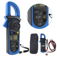 Digital otomatis rentang klem penguji meteran Multimeter DMM DC Volt AC Ohm segala - Internasional