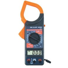 Jual Digital Clamp Multimeter Tang Ampere M266 Hitam Digital