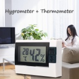 Harga Digital Display Indoor Room Thermometer Thermo Hygrometer Max Min Meter Internasional Terbaru