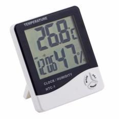 Digital Hygrometer Termometer Htc 1 Alat Pengukur Suhu Ruangan Putih Diskon Indonesia