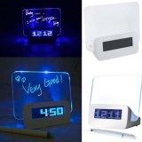 Beli Digital Led Alarm Clock Memo Board Jam Weker Unik Dengan Papan Tulis Menyala Online