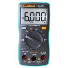 Digital Multimeter 6000 hitungan Backlight AC / DC Ammeter Voltmeter Ohm Meter