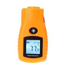 Digital Termometer Inframerah Non-kontak Suhu Meter Tester LCD IR Laser-32 ~ 280 Celcius-26 ~ 536 Fahrenheit-Intl