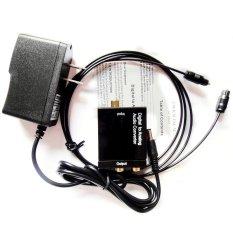 Harga Digital Optik Koaksial Toslink For Sinyal Analog Adaptor Konverter Audio Rca L R Oem Ori