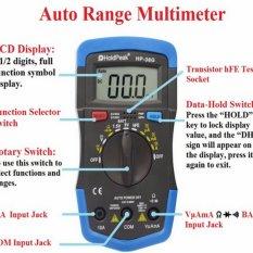 Digital Universal Meter, Rumah Otomatis Rentang, Presisi Tinggi Digital Multimeter, Mengukur Arus, Tegangan, Kapasitansi, Frekuensi, Buzzer, Universal Meter-Internasional
