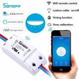 Model Sonoff Diy Wifi Smart Plug Stopkontak Cerdas Switch Wireless Timer Socket Power Remote Control Hidupkan Mati Peralatan Rumah Tanggavia Aplikasi Smartphone Gratis Kapan Saja Dimana Saja Intl Terbaru