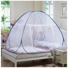 Spesifikasi Diskon Kelambu Tempat Tidur Bisa Dilipat 120 X 200Cm Putih Baru
