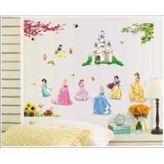 Beli Disney Princess Stiker Dinding Nyicil
