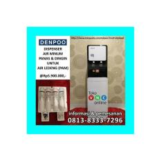 Dispenser Denpoo Panas Dingin Air Ledeng (PAM) Water Purifire