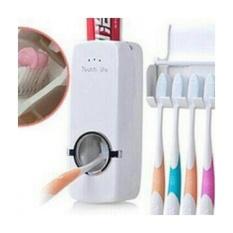 Beli Dispenser Odol Toothpaste Dispenser Brush Set Tempat Sikat Gigi Dan Pasta Di Kamar Mandi Disdol Murah