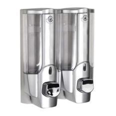 Harga 354 Dispenser Sabun Cair 2 In 1 With Key Lock Dengan 2 Tabung 354