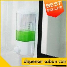 Dispenser Sabun Shampoo Cair Single Pencet Praktis
