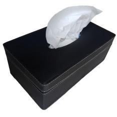 Spesifikasi Diva Davi Tissue Box Tempat Tisu Kulit Sintetis Oscar 24 X 12 Cm Hitam Merk Diva Davi